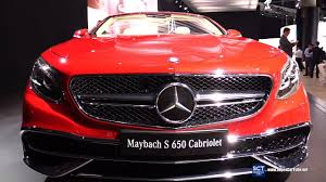 mercedes maybach interior 2018 2018 mercedes maybach s 650 cabriolet exterior interior