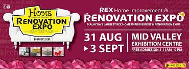 home design expo 2017 31 aug 3 sept 2017 malaysia international rex home renovation