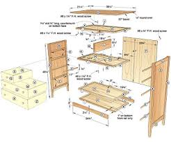 Wood Furniture Plans For Free by Plans For Dresser Free Woodworking Plans And Projects Information