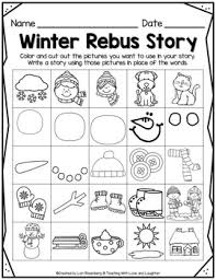 winter rebus story free by teaching with and laughter tpt