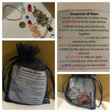 meaningful gifts for knapsack of can use any small pouch ziplock bag box etc