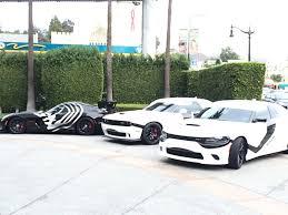 Dodge Viper Hellcat - star wars themed viper u0026 hellcats patrol la streets
