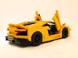 lego lamborghini car the best and worst lego car ideas drivetribe