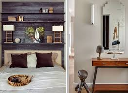console pour chambre tête de lit avec rangement en 57 dées pour ranger et décorer