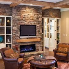 Fancy Fireplace by Apartment Simple Design Fancy Stone Fireplace Ideas With Flat Stone