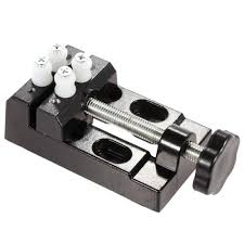 Hobby Bench Vice Mini Aluminium Bench Vise Clip On Jewelry Clamp Vice Small Repairs