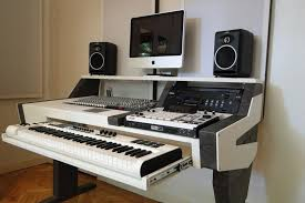Built In Desk Diy Diy Fully Custom Built Studio Desk B W Gearslutz This Is For