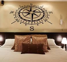 wall decals rose compass vinyl decal sticker nautical living room