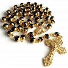 vatican rosary elegantmedical gold blue jade prayer vatican rosary italy
