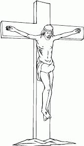 free printable cross coloring pages kids
