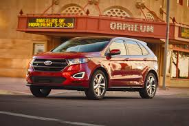 nissan murano vs ford edge 2015 ford edge edgy fresh styling new on wheels groovecar