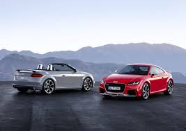 sporty audi audi tt rs coupé and tt rs roadster the sporty vanguard of the