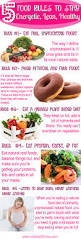 5 food rules to stay energetic lean healthy