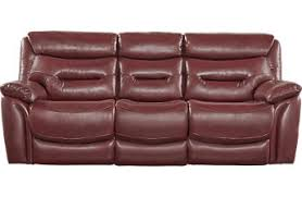 Leather Reclining Sofa Affordable Reclining Leather Sofas Rooms To Go Furniture