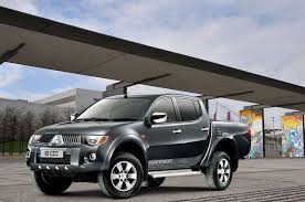 mitsubishi strada modified fiat mitsubishi sign mou on development of midsize truck