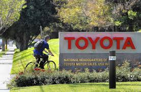 toyota california 3 000 toyota jobs to move to texas from torrance la times
