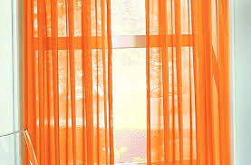 Orange White Curtains Curtain Orange And White Curtains Bright Grommet Great