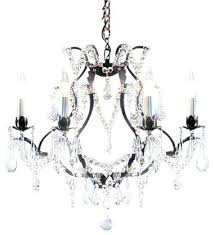 Black Traditional Chandelier Black Iron Chandelier With Crystals U2013 Eimat Co