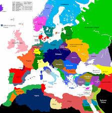 Europe World Map by 1678 1708 Europe 1430 Map Game Alternative History Fandom