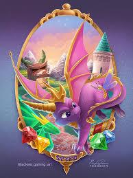 spyro the dragon by tsaoshin on deviantart