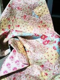 Shabby Chic Twin Quilt by Shabby Chic Quilts Simply Shabby Chic Roses Quilt Squaresrachel