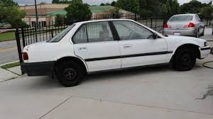 1990 honda accord dx 1990 honda accord for sale carsforsale com