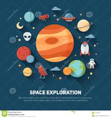 Invitations And Cards Space Theme Banners And Cards Stock Vector Image 57129272