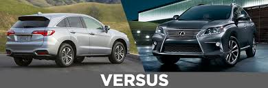acura rdx vs lexus rx 2016 acura rdx vs 2015 lexus rx 350 continental acura