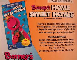 barney u0027s birthday and home sweet homes 2 vhs videos ad 3705229