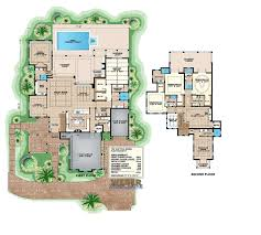 2 story house plan california coastal with cabana suite see photos