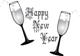printables happy new year night glasses clipart coloring point