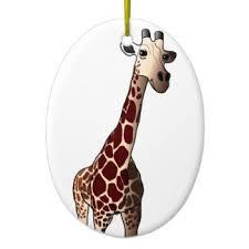 giraffe ornaments keepsake ornaments zazzle