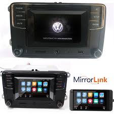 car stereo radio mib 2 rcd510 w camera bluetooth cd usb vw golf
