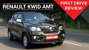 kwid renault price renault kwid 1 0 easy r amt first drive review zigwheels youtube