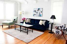 Navy Blue Tufted Sofa Blue Velvet Tufted Sofa Houzz