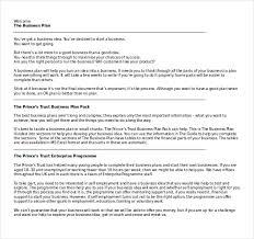 business plan document template expin memberpro co
