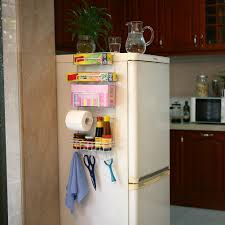 popular kitchen side cabinet buy cheap kitchen side cabinet lots 6 tier multi purpose kitchen cabinet refrigerator side rack door metal storage rack shelves