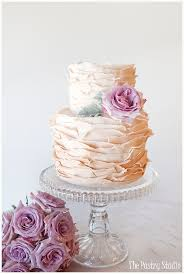 wedding cake lavender lovely ombré vintage wrapped wedding cake with a touch of lavender