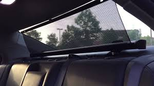 shade styx review aftermarket rear car sunshade youtube