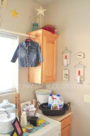 Laundry Room Decorating Accessories by The Laundry Room Revisited Craft O Maniac