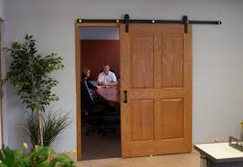How To Make A Barn Door Track Could We Use Existing Doors But Buy The Barn Door Track Hardware