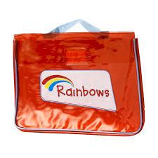 rainbow welcome bag rainbow gifts and fun badges girlguiding