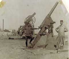 Ottoman Guns File Ottoman Anti Aircraft Guns At Gallipoli Jpg Wikimedia Commons