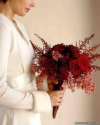 Red Wedding Bouquets Red Wedding Flowers Martha Stewart Weddings