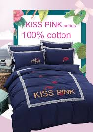 pink vs secret winter bedding set velvet bed linen bed sheet set