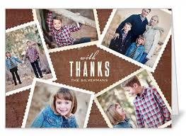 thank you card sles design photo collage thank you cards thank