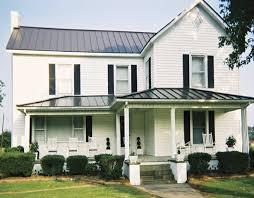 metal roof with white house photo gallery metal roofing for