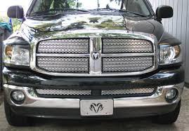 Dodge Ram Truck Grills - custom grill mesh kits for dodge vehicles by customcargrills com