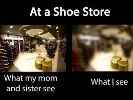 Meme Store - at a shoe store jpg