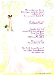 inexpensive bridal shower invitations printable wedding shower invitations simplo co